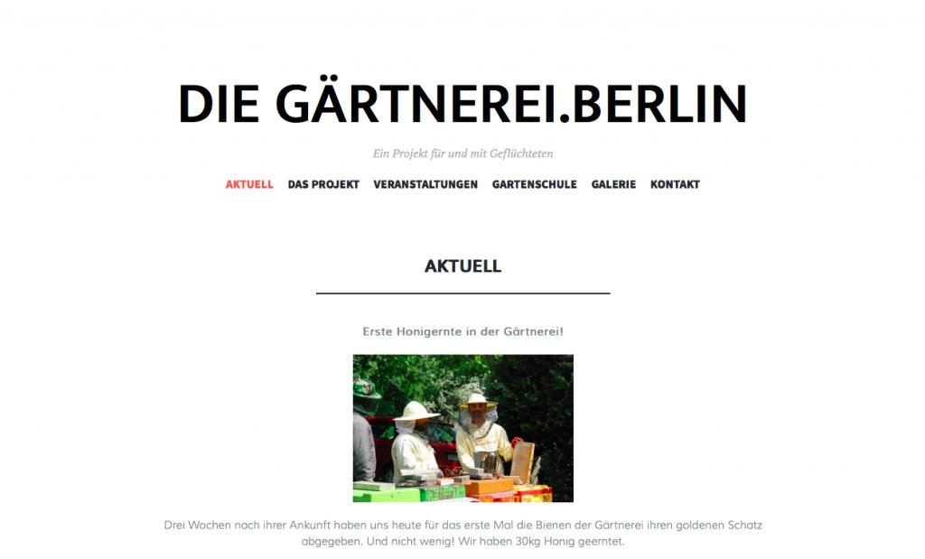 Webseite Gärtnerei2